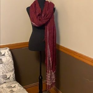 Free people scarf or drape very long